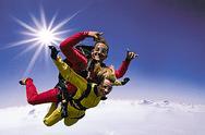 Fallschirm Tandemsprung über Österreich