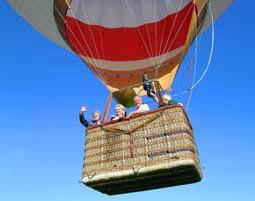 Ballonfahren über Österreich