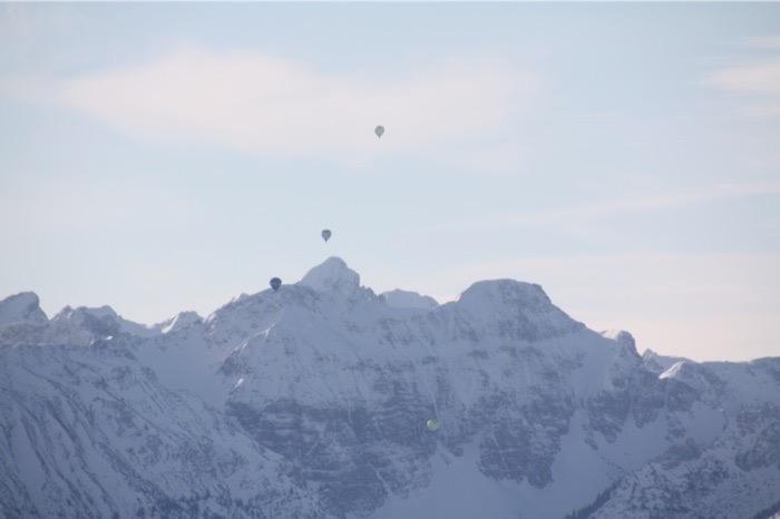 Ballonfahren über Österreich (Steiermark)