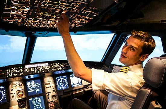 Flugsimulator A320 in Wien