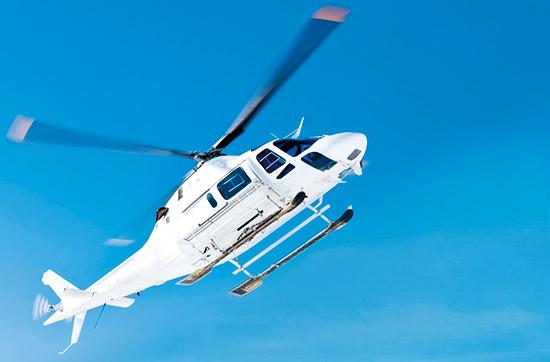 Hubschrauberfliegen Selberfliegen